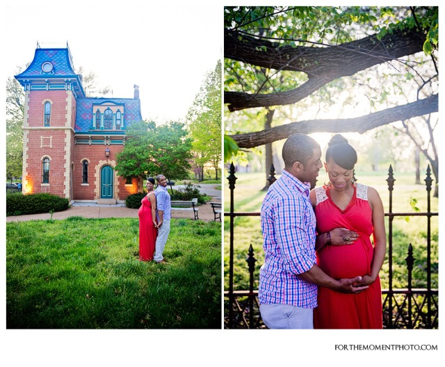 Lafayette Park Maternity Photos By For The Moment Photography