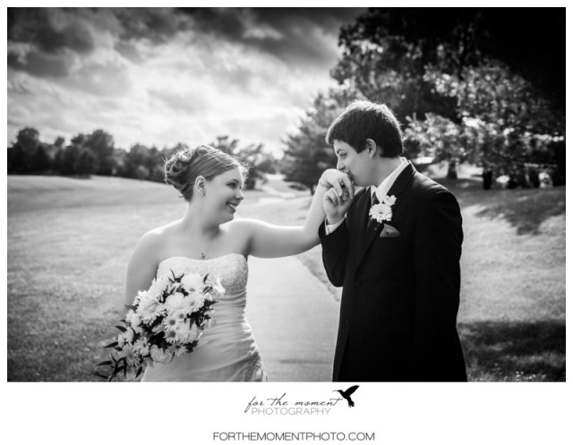 Waterloo IL Golf Course Wedding Photos