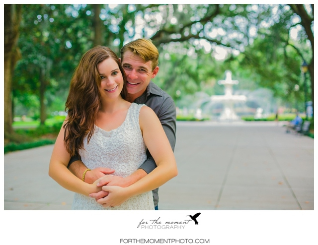 destination savannah engagement photos