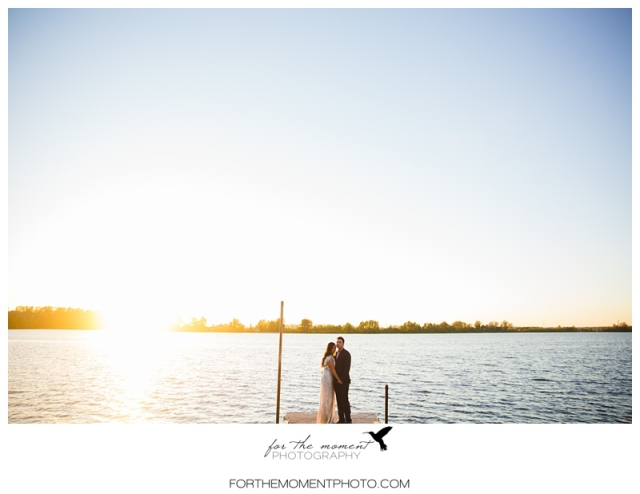 St Louis Hollywood Inspired Lake Wedding Photos
